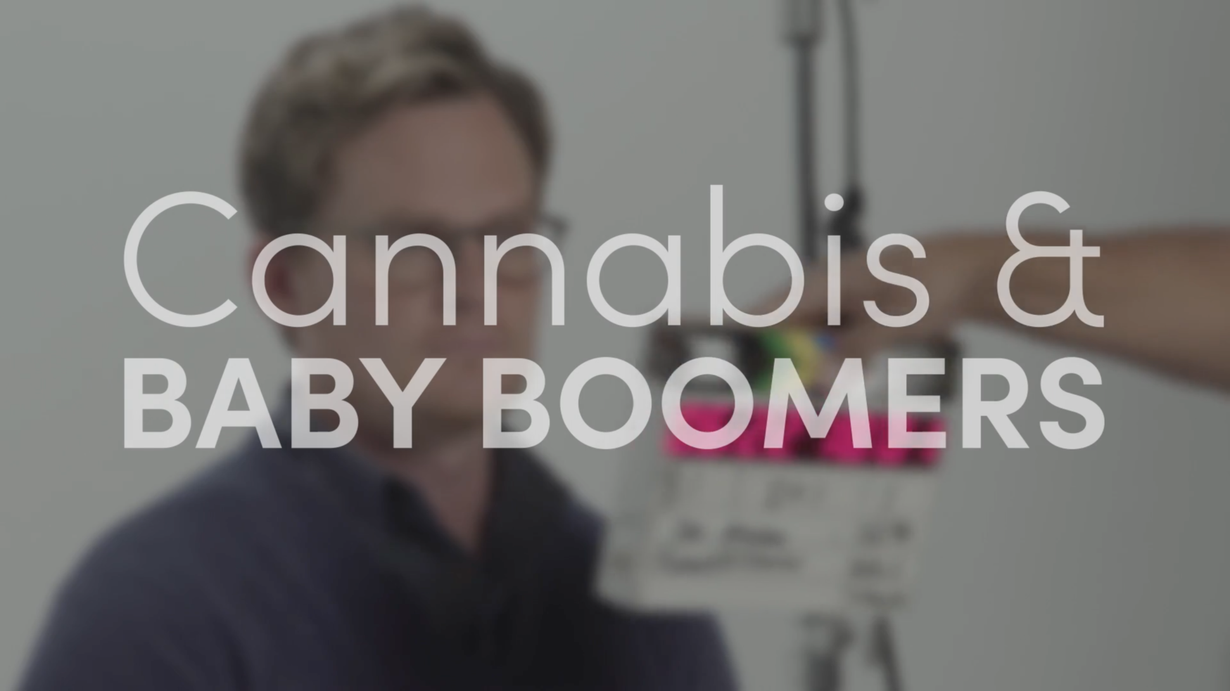 Cannabis is used by baby boomers