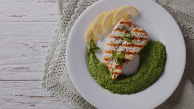 Flowertown Cannabis Infused Paleo Chicken Pesto