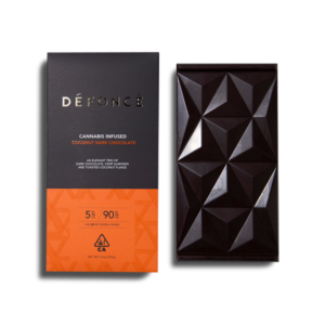 Flowertown Defonce Coconout Dark Chocolate Bar