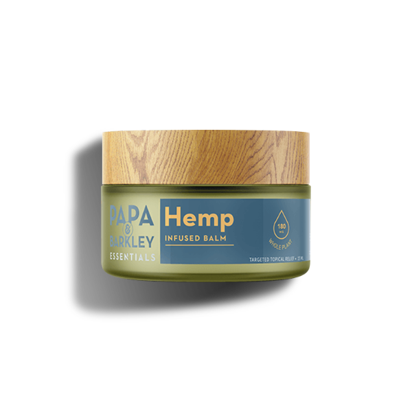 Flowertown Papa and Barkley Essentials Hemp Balm