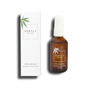 Flowertown Vertly Hemp CBD Infused Body Spray