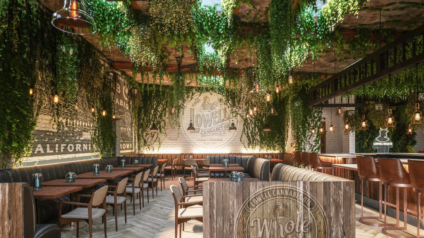 Flowertown Americas first cannabis cafe opens in West Hollywood