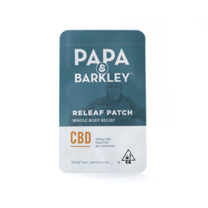flowertown papa barkley patch cbd